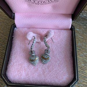 Juicy Couture Bling Heart Earrings 💎